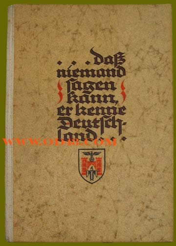 1939 PHOTO BOOK ON MUNICH IN 4 LANGUAGES
