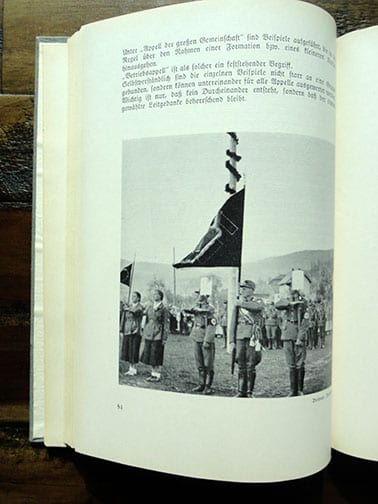 NSDAP PHOTO BOOK ON ORGANIZED FREETIME ACTIVITIES