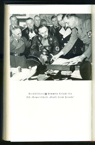 1939 PHOTO BOOK ON THE D.A.F. LEADER DR. ROBERT LEY