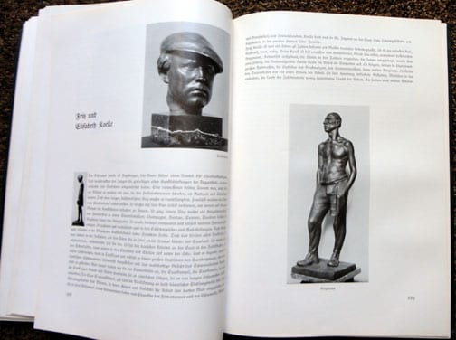 1939 BOOK ON MUNICH'S ARTISTS WITH 477(!) PHOTOS & ILLUSTRATIONS