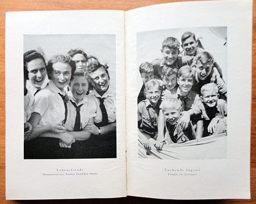 1940 NSDAP PROPAGANDA PHOTO BOOK