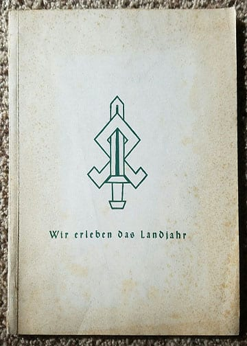 "1940 PHOTO BOOK ON HITLER YOUTH & BDM IN THE ""LANDJAHR"""