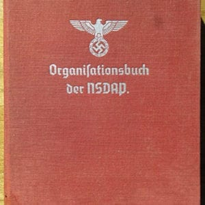 "1940 SIXTH EDITION ""ORGANISATIONSBUCH DER NSDAP"""