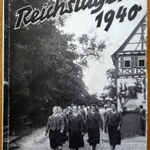 1936 REICHSNÄHRSTAND FEMALE LEADER TRAINING CAMP BOOK