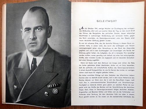1941 ANTI-SEMITIC PHOTO BOOK ON THE GENERALGOUVERNEMENT!