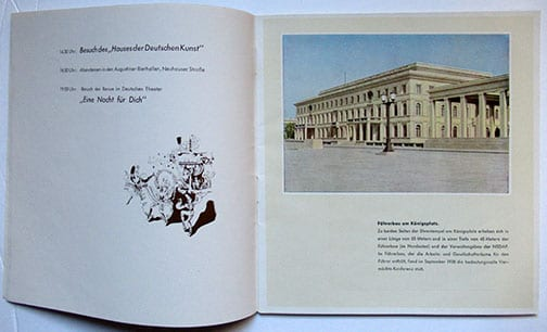 1941 MUNICH PHOTO GUIDE FOR WEHRMACHT SOLDIERS ON LEAVE