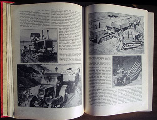 ORIGINAL 1941 BOUND FULL YEAR OF THE 'DEUTSCHE KRAFTFAHRT MOTORWELT