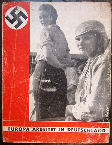 1943 PHOTO BOOK ON FOREIGN LABORERS IN NAZI GERMANY