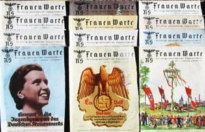 SET OF 19 1939 ISSUES OF THE NS-FRAUENWARTE PERIODICAL