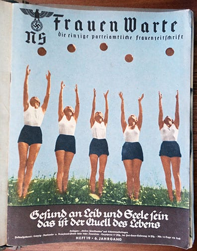 BOUND 1937/1938 SET OF THE NS-FRAUENWARTE PERIODICAL