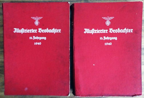 1940 ISSUES #1-52 OF THE OFFICIAL ILLUSTRATED NSDAP NEWSPAPER