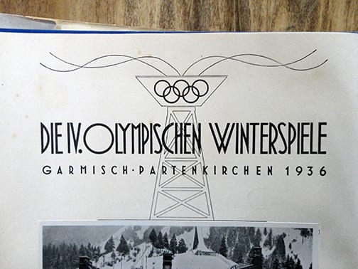 1936 OLYMPIC WINTER + SUMMER GAMES ALBUMS
