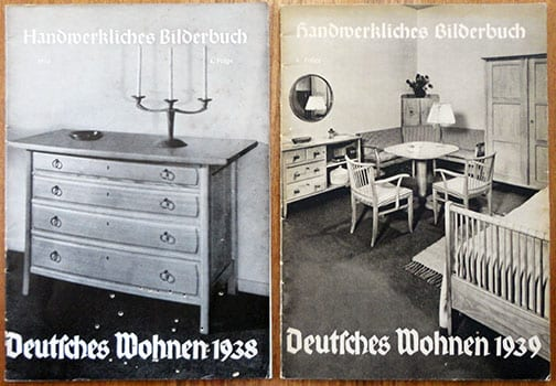 1938/39 PHOTO PUBLICATIONS ON 'GERMAN LIVING'