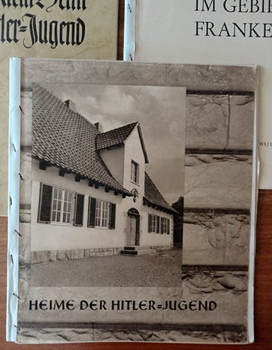 LOT OF THREE (3) ORIGINAL THIRD REICH HITLER YOUTH ARCHITECTURE PHOTO BOOKS