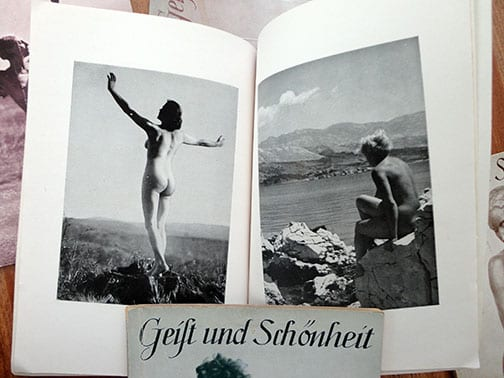 LOT OF FIVE ORIGINAL NUDE PHOTO BOOKS Geist und Schönheit