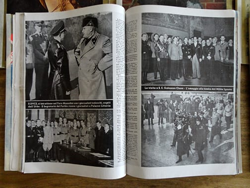 """LOT OF SIX (6) 1937 & 1938 ISSUES OF THE SOUGHT AFTER OFFICIAL PERIODICAL OF DR. LEY'S """"JOY AND WORK"""" ORGANIZATION"""