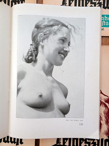 SIX ORIGINAL ISSUES OF OFFICIAL THIRD REICH NUDE PERIODICAL