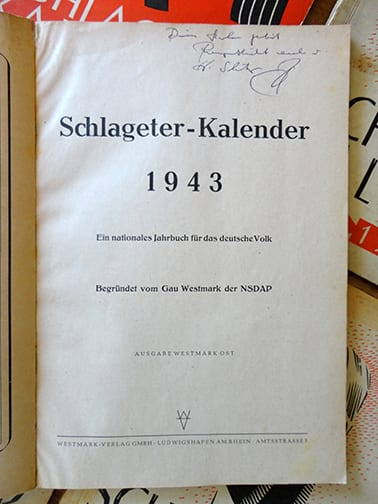 'PATRIOTIC' YEARBOOKS PUBLISHED BY NSDAP LEADERSHIP