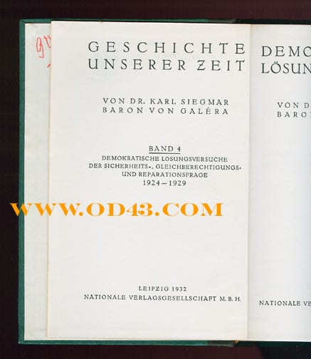 EIGHT VOLUME ENCYCLOPEDIA CONTEMPORARY GERMAN HISTORY