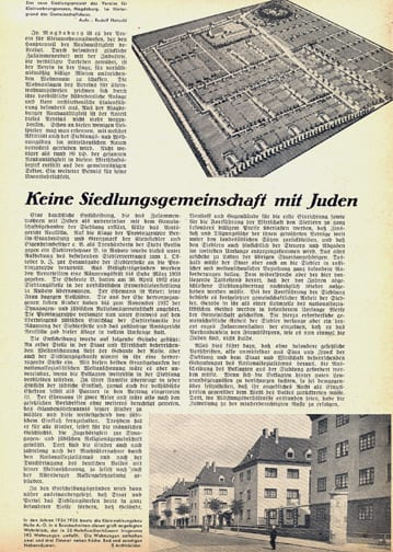 LOT OF SEVEN 1938 THIRD REICH PERIODICALS RESIDENTIAL CONSTRUCTION