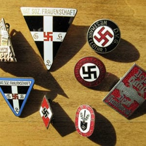 LOT OF EIGHT (8) ORIGINAL THIRD REICH BADGES