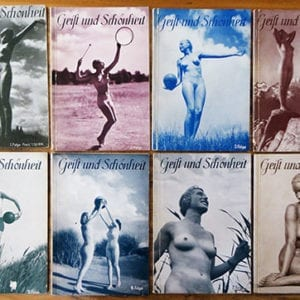 LOT OF EIGHT ORIGINAL NUDE PHOTO BOOKS Geist und Schönheit
