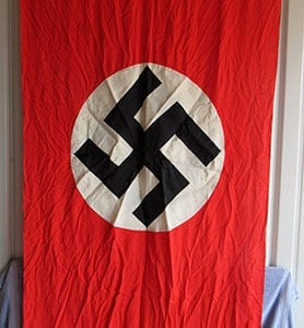 DOUBLE SIDED 1145x2385mm THIRD REICH PARTY BANNER