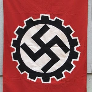 GERMAN LABOR FRONT BANNER