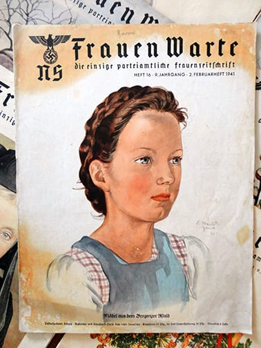 LOT OF NINE ISSUES OF THE RARE NS-FRAUENWARTE PERIODICAL