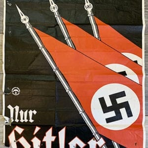 1932 ADOLF HITLER PRESIDENTIAL ELECTION CAMPAIGN POSTER
