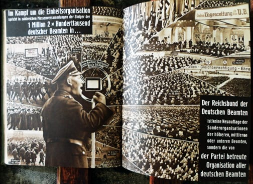 1935 PHOTO ALMANAC FOR THE NAZI GERMAN CIVIL SERVANTS