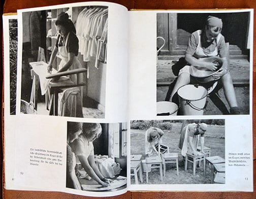 PHOTO BOOK ON THE FEMALE REICH LABOR SERVICE