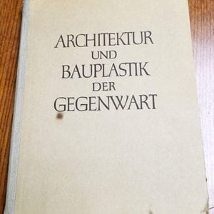1938 NAZI ARCHITECTURE & SCULPTURES PHOTO BOOK