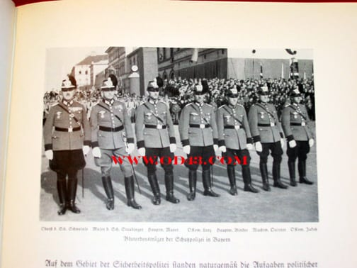 1937 PHOTO BOOK ON 4 YEARS OF NAZI REIGN IN BAVARIA