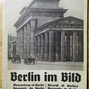 1936 MULTILINGUAL PHOTO BOOK ON THE REICH CAPITAL BERLIN