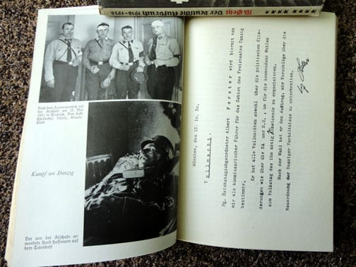 1934 PHOTO BOOK ON THE NSDAP GAULEITER OF DANZIG