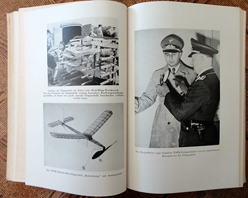 1938 NAZI PHOTO BOOK ABOUT THE N.S.F.K.