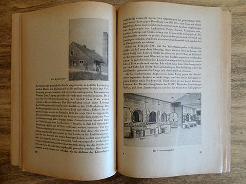 1950s PHOTO BOOK ON BUCHENWALD CONCENTRATION CAMP