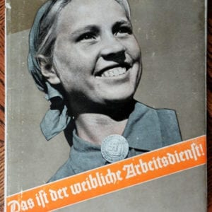 1940 THIRD REICH PHOTO BOOK ON THE FEMALE LABOR SERVICE