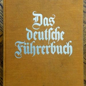 1933 BOOK ABOUT FAMOUS LEADERS IN GERMAN HISTORY