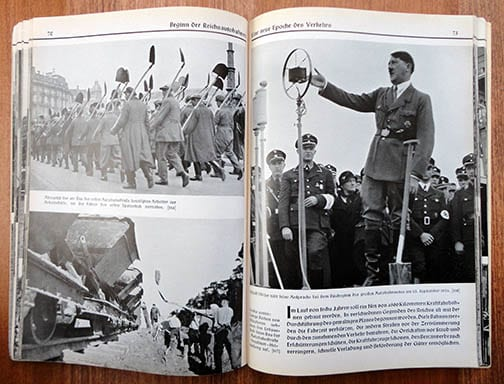 1934 PHOTO BOOK ON LABOR SERVICE IN HITLER-GERMANY