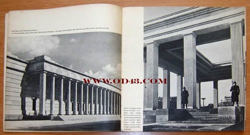 1937 PHOTO BOOK ON FOUR CITIES IN THIRD REICH GERMANY