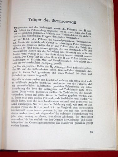 400-PAGE PHOTO BOOK ON THE GENERALGOUVERNEMENT