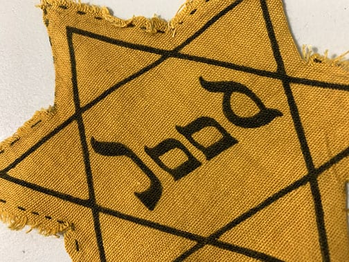 DUTCH 'JOOD' STAR OF DAVID