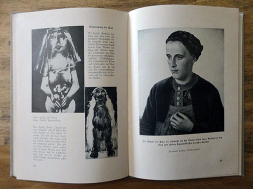 1938 NAZI PHOTO BOOK GERMAN ART & DEGENERATE ART