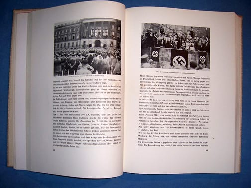 1939 OFFICIAL NSDAP CHRONICLES OF THE GAU (DISTRICT) WESTFALEN-NORD
