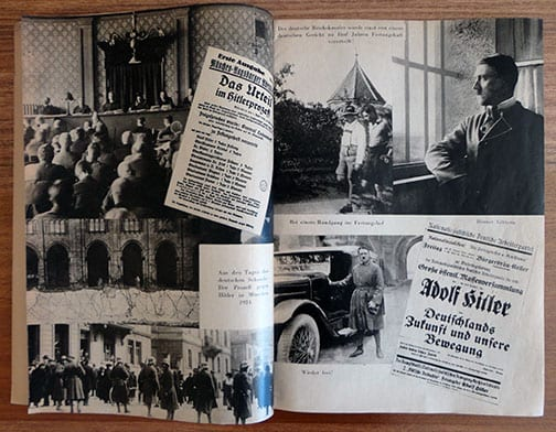 H. HOFFMANN PHOTO BOOK ON THE RISE OF HITLER AND THE NSDAP