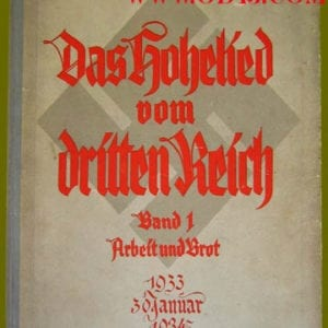 1934 PHOTO BOOK ON THE 1st YEAR OF NAZI GERMANY