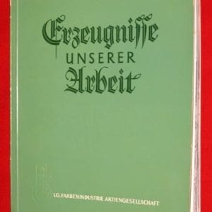 1938 I.G. FARBENINDUSTRIE NAZI PHOTO BOOK