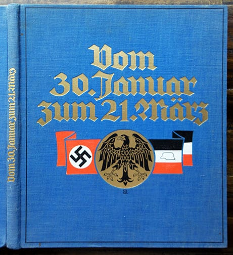 ONE OF THE FINEST ORIGINAL BOOKS ON THE NAZI SEIZURE OF POWER IN 1933